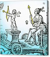 Venus, Roman Goddess Of Love Acrylic Print by Photo Researchers