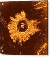 Venus, Synthetic Aperture Radar Map Acrylic Print