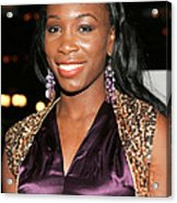 Venus Williams At Arrivals For Hitch Acrylic Print
