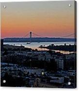 Verazano Sunset Acrylic Print