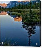 Vermilion Lake Acrylic Print