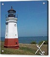 Vermillion Ohio Lighthouse Acrylic Print