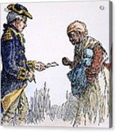 Vermont: Manumission, 1777 Acrylic Print