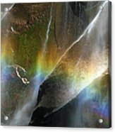 Vernal Falls Rainbow At Yosemite Acrylic Print