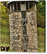 Vernon County Silo Acrylic Print