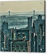 Verrazano From Manhattan Acrylic Print