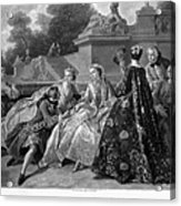 Versailles: Court Life Acrylic Print