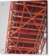 Vertebrae Of The Bridge Acrylic Print