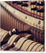 Vertical Piano Acrylic Print by Isabelle Lafrance Photography