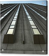 Vertical Reflections Acrylic Print