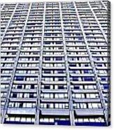 Vertical Urbanization Acrylic Print