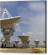 Very Large Array (vla) Radio Antennae Acrylic Print