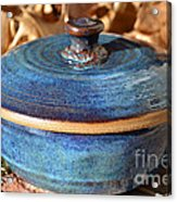 Vessel With Lid No.2 Acrylic Print by Christine Belt