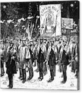 Veteran March, 1876 Acrylic Print by Granger