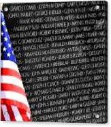 Veterans Memorial  Acrylic Print