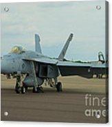 Vf-31 Tomcatters On Tarmac  Acrylic Print
