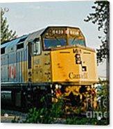 Via Rail Engine Acrylic Print