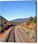 via Train 658 Acrylic Print