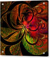 Vibrant Bloom Acrylic Print