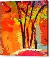 Vibrant Bouquet Acrylic Print