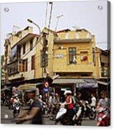 Vibrant Hanoi Acrylic Print