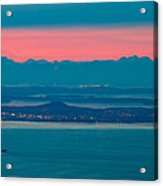 Victoria at dusk Acrylic Print