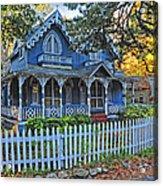 Victorian Home Marthas Vineyard Acrylic Print