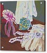 Victorian Lace Acrylic Print