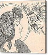 Victorian Lady - 3 Acrylic Print