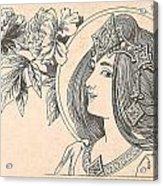 Victorian Lady - 4 Acrylic Print