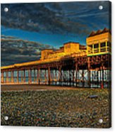 Victorian Pier Acrylic Print by Adrian Evans