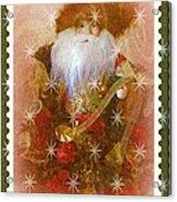 Victorian Santa Acrylic Print
