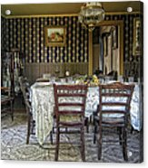 Victorian Sedman Home Dining Room - Nevada City Montana Acrylic Print