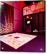 Videogame A Musical Floor Game On A Mat Acrylic Print by Corepics