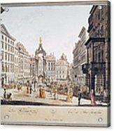 Vienna: Hohemarkt, 1793 Acrylic Print