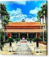 Vietnamese Buddhist Temple Acrylic Print