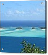 View Across Polynesia Acrylic Print