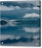 View At Sunset From The Lake Hotel In Killarney Ireland Acrylic Print