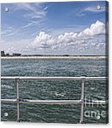 View From Across The Bay Acrylic Print