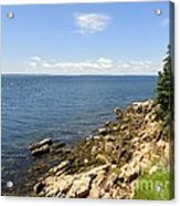View From Bass Harbor Light Acrylic Print
