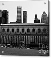 View From Bryant Park Nyc Acrylic Print