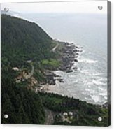 View From Cape Perpetua 2 Acrylic Print