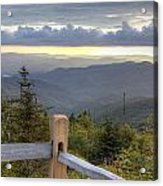 View From Clingmans Dome 2 Acrylic Print