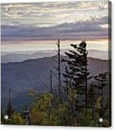 View From Clingmans Dome 4 Acrylic Print