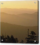 View From Clingmans Dome Acrylic Print