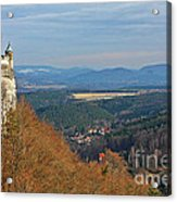 View From Koenigstein Fortress Germany Acrylic Print