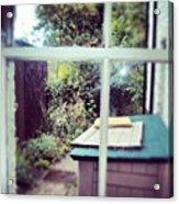 View From My Window, #cambridge #view Acrylic Print