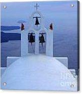 Beauty Of Santorini Greece Acrylic Print