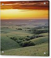 View From The Cypress Hills Acrylic Print