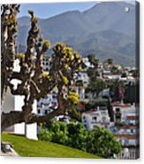 View From The Parador Nerja Acrylic Print